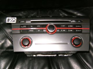 mazda 3 autoradio bk radio cd player 14794008 br2b66aro media