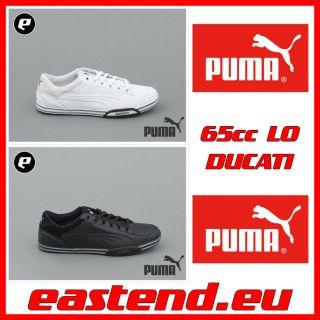 Puma 65CC LO DUCATI Echtleder Schwarz Weiss Neuheit 11