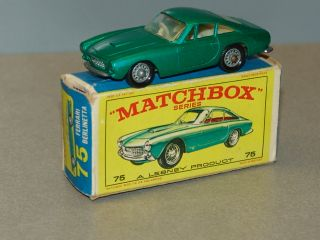 Matchbox No. 75 Ferrari Berlinetta   TOP/OVP