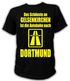 UNISEX KULT FUN T Shirt S XXL ULtra Fan Anti Schalke Dortmund Borussia