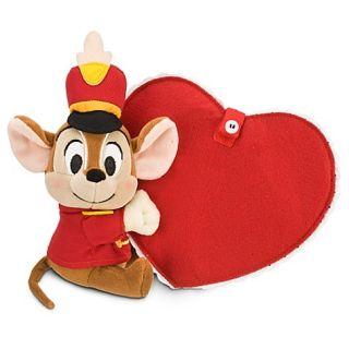 Orig Disney Timothy Mouse Dumbo Plüsch Stofftier Valentine