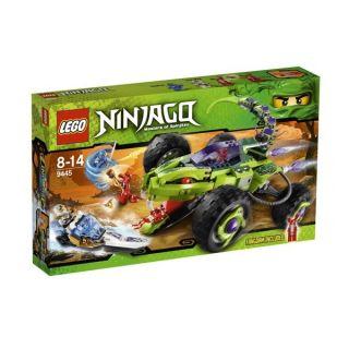 LEGO Ninjago 9445 Schlangen Quad, Minifiguren Zane ZX, Jay ZX, Fangtom