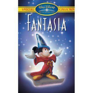 Fantasia [VHS] Leopold Stokowski, Johann Sebastian Bach, Peter