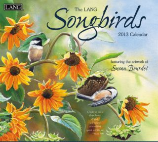 Songbirds Christian   2013 Wall Calendar Calendars