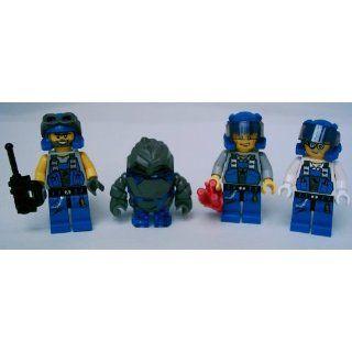 Stück LEGO POWER MINERS Figuren Paket incl. Rock Monster Glaciator