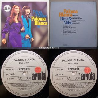 Nina & Mike   Paloma Blanca