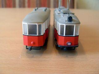 Modell Strassenbahn 187 Stand Roll Modell H0