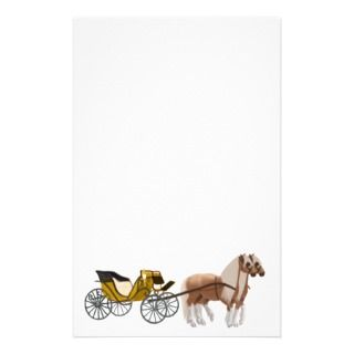 Horse Drawn Carriage Stationery