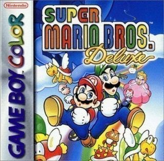 GameBoy Color   Super Mario Bros. Deluxe (Modul) (gebraucht)