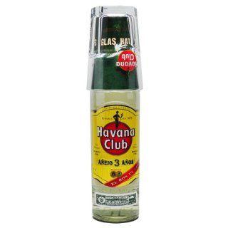 Havana Club Anejo 3 Anos 0, 7 l + Glas on Pack Küche