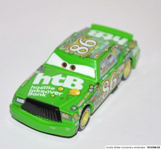 Selten Chick Hicks 86 Disney Pixar Cars 155 Metall Auto Diecast