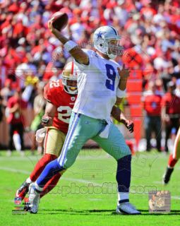Tony Romo 2011 Action Photo