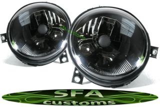 VW Lupo Scheinwerfer SET headlights Schwarz 99+ H4 97
