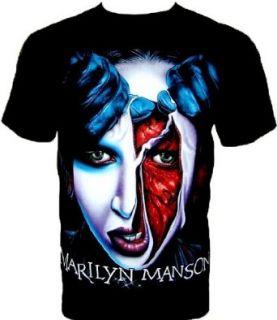 MARILYN MANSON T SHIRT Fanshirt Schwarz Black Gr S