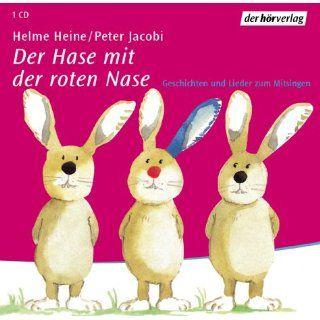 Der Hase mit der roten Nase. Audiobook. CD. Geschichten und Lieder zum