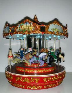 Mr. Christmas Karussell, Spieluhr mit 50 Liedern