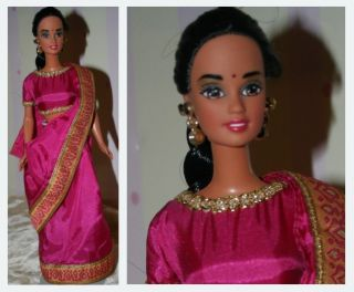 indische Barbie Dolls of the world DOTW India, neuwtg
