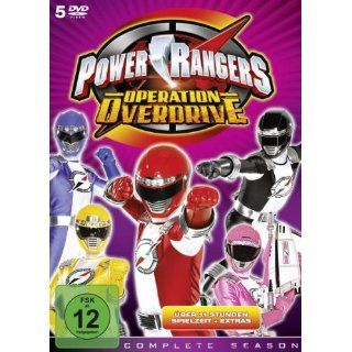 Power Rangers Operation Overdrive Complete [5 DVDs]