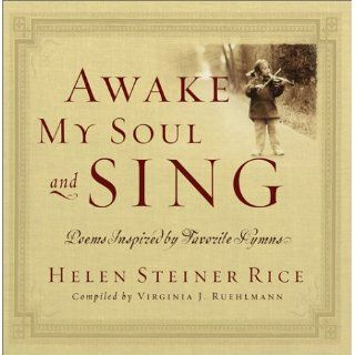 Awake My Soul and Sing Poems Inspired by Favorite Hymns with CD