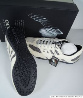 Geox Respira U2210W 01431 C0284 Snake Sneaker Herren Sport Schuhe Gr