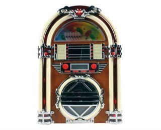 Nostalgie Musikanlage CD Player Radio Jukebox Musikbox