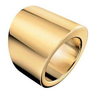 Klein Damen Ring Stylish Gold PVD Gr. 55 KJ74BR020107 Calvin Klein