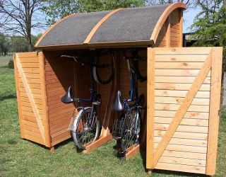 Fahrradgagage   Fahrradschuppen   Gerätehaus universal