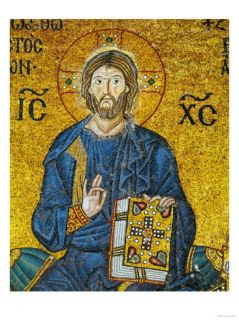 Christ, from the Votive Mosaic in the South Gallery, 11th Century Giclee Print