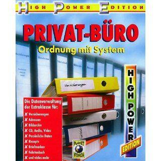 Privat Büro, 1 CD ROM Ordnung mit System. Die Datenverwaltung der