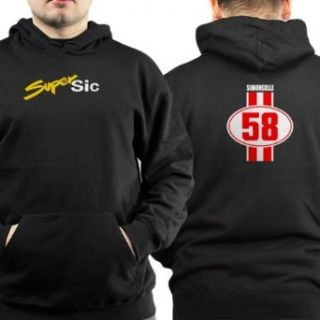 Marco Simoncelli Super Sic 58 DS   Pullover Hoodie