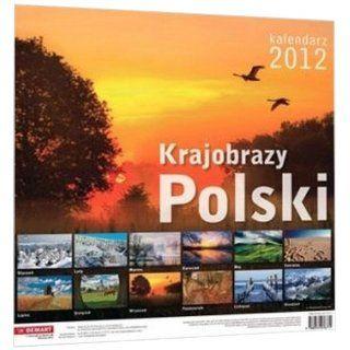 Kalendarz 2012 scienny Krajobrazy Polski Englische Bücher