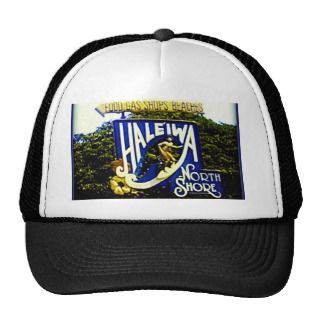 Haleiwa North Shore Hawaii hat
