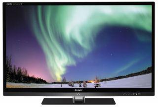 Sharp LC46LE830E 117 cm (46 Zoll) 3D LED Backlight Fernseher Schwarz