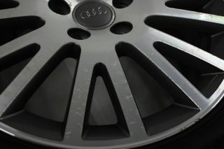 Original Audi A3 8P Alufelgen Sommerreifen Sommerräder 225/45 17 Zoll
