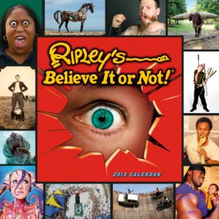 Ripleys Believe it or Not!®   2013 12 Month Calendar Calendars