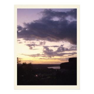 Sunset Over General Butler St Park in Kentucky Letterhead Design