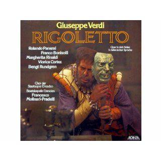 Verdi Rigoletto (Oper in 3 Akten, italienisch) [Vinyl Schallplatte