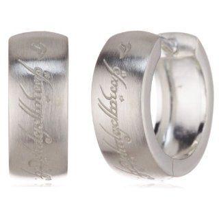 Herr der Ringe Schmuck by Schumann Design Creolen 925 Sterling Silber