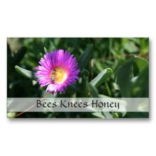 Beekeeper, Honey Bee Sales   Business Card