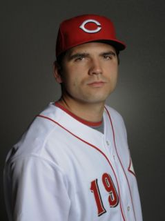 Cincinnati Reds Photo Day, GOODYEAR, AZ   FEBRUARY 20 Joey Votto Photographic Print by Rob Tringali