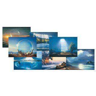 Kunstkarten, Postkarten, 10 x 15 cm, Lichtwelten, Traumbilder