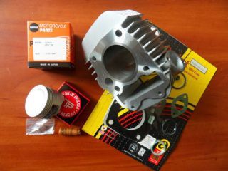 147cc INNOVA WAVE CYLINDER + JAPAN PISTON   KOLBEN KIT ANF 125