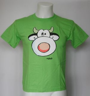 NEU COW KINDER T SHIRT 128 KIDS KUH LEENDERT JAN VIS POLO HEMD