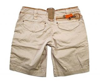 Parajumpers Damen Cargoshorts Cargo Shorts Short 1 CL22 / P09 sand W28