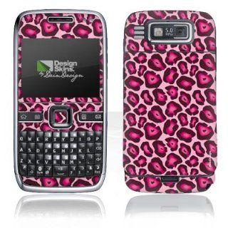 Design Skins für Nokia E72   Pink Leo Design Folie