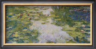Water Lilies, c. 1917 19 Poster by Claude Monet