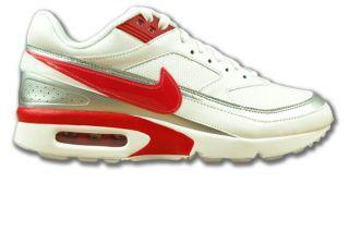 Wmns Nike Air Max Classic BW Weiss/Rot Neu Größen wählbar