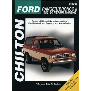 Ford Ranger/Bronco II 1983 90 (Chiltons Total Car Care Repair