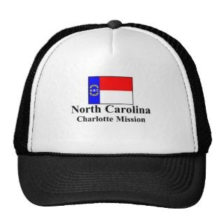 North Carolina Charlotte Mission Hat