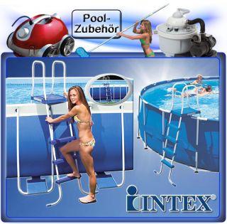 INTEX LEITER 132 Schwimmbadleiter Swimming Pool Schwimmbad Poolleiter
